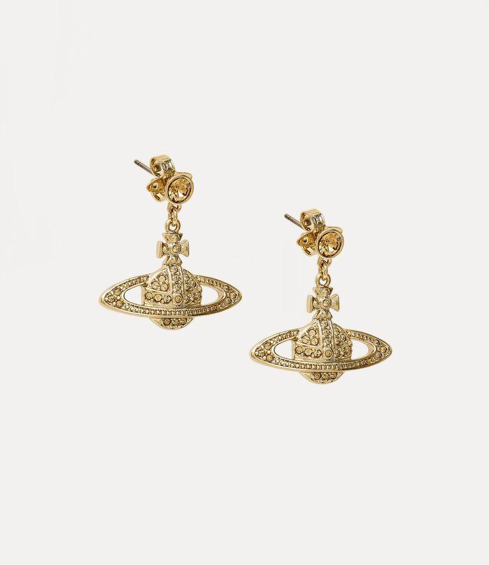 Mini Bas Relief Drop Earrings 2