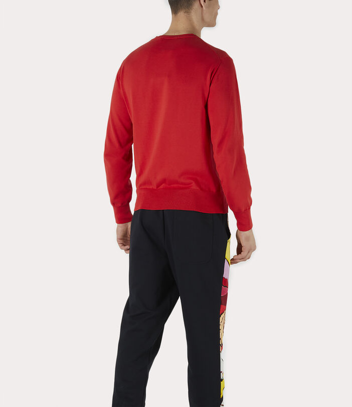 Classic Roundneck Sweater Red 4
