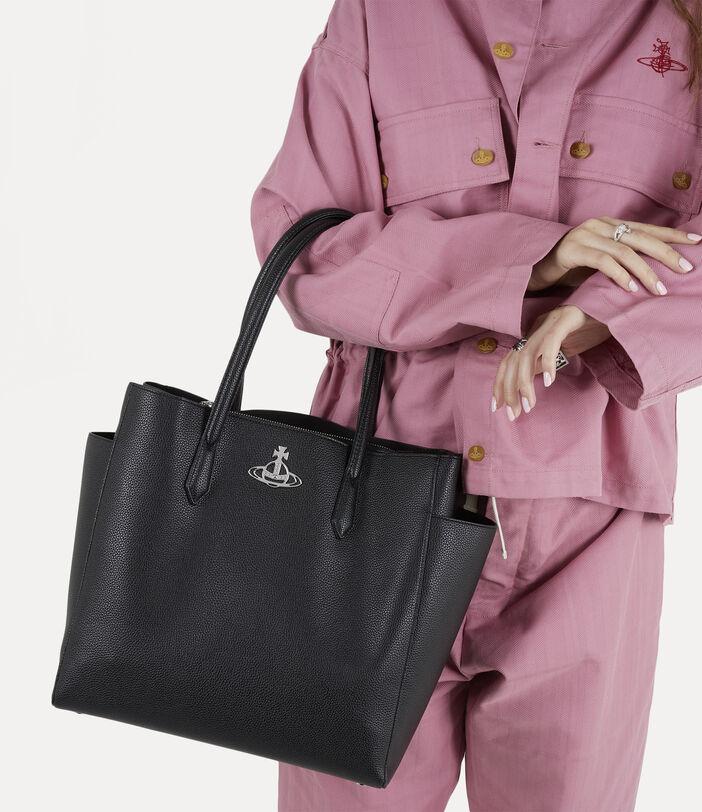 Johanna Large Shopper Black 2