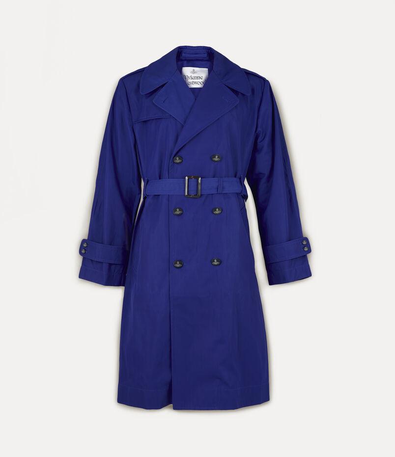 Vivienne Westwood Ben Trench Coat Blue