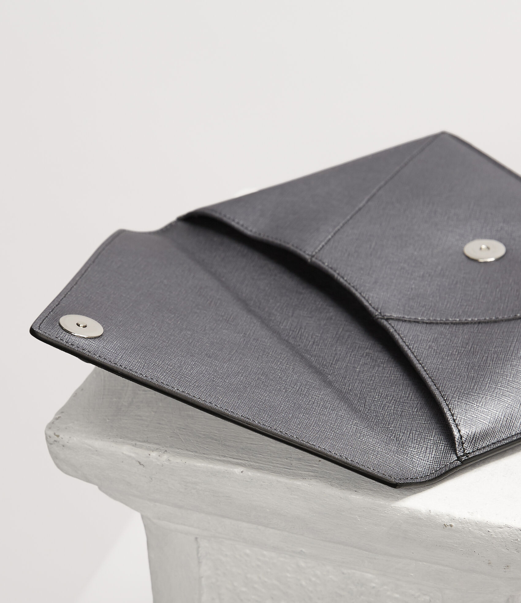 4943b0a3a0 Vivienne Westwood Clutches | Women's bags | Vivienne Westwood - Victoria  Envelope Clutch Anthracite