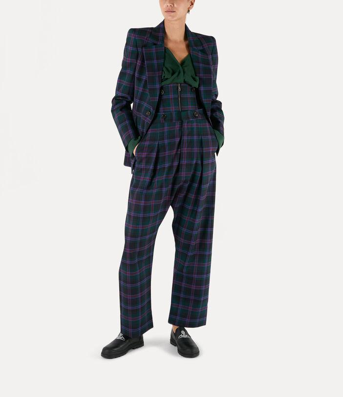 Lou Lou Jacket Purple/Green 2