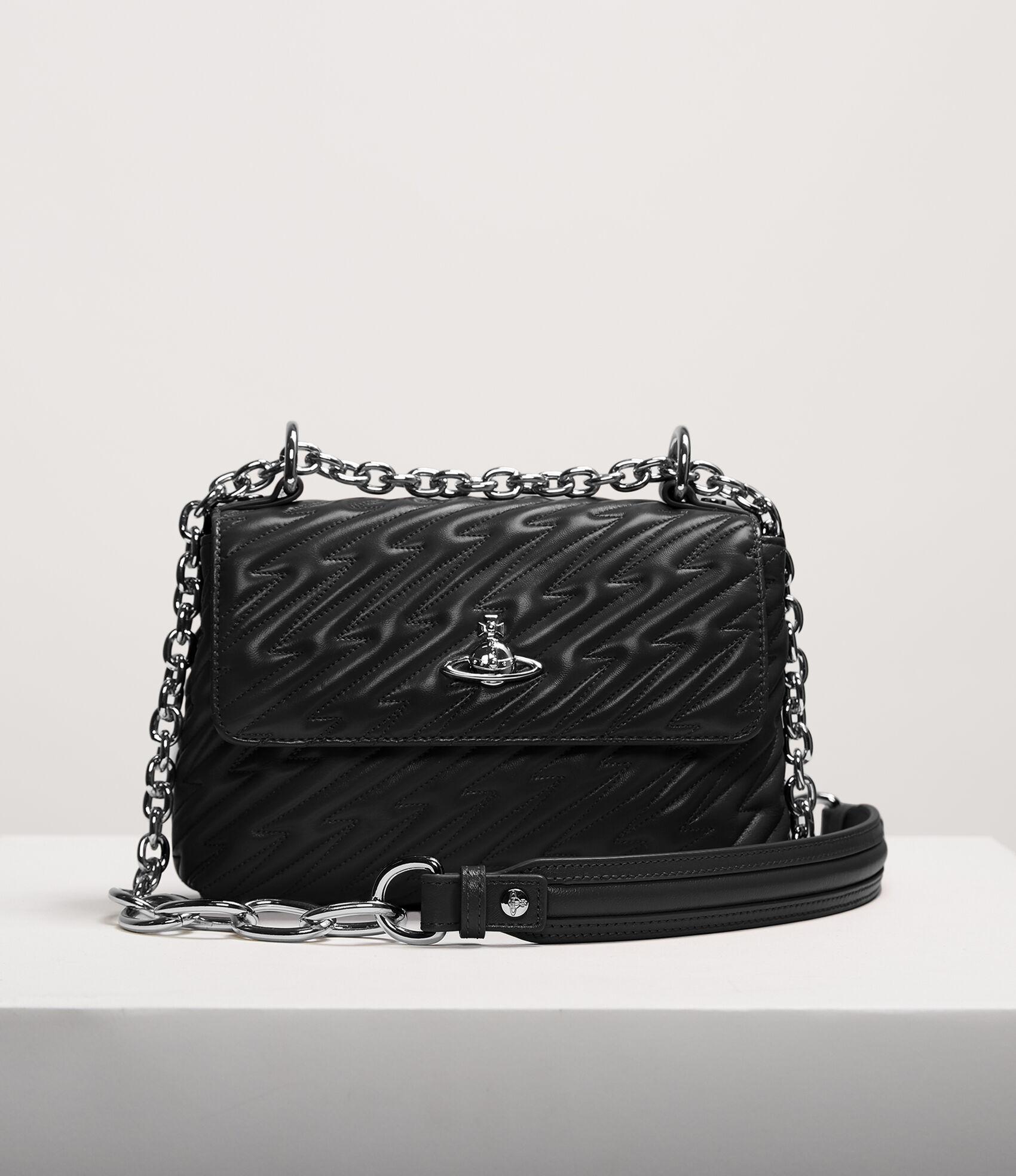 5437666586 Vivienne Westwood Handbags | Women's Bags | Vivienne Westwood - Coventry  Medium Handbag Black