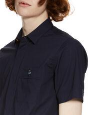 Classic Stretch Short Sleeved Shirt Blue/Navy