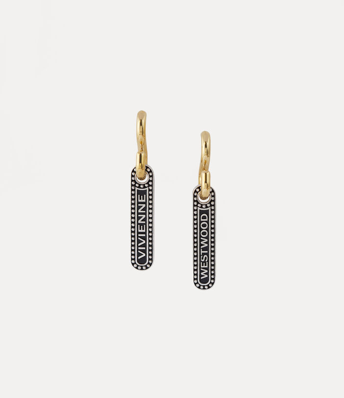 Marjane Earrings Silver/Gold-Tone 2