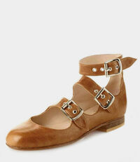 Roman Three Straps Tan