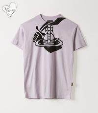 Boxy T-Shirt Arm & Cutlass Lilac