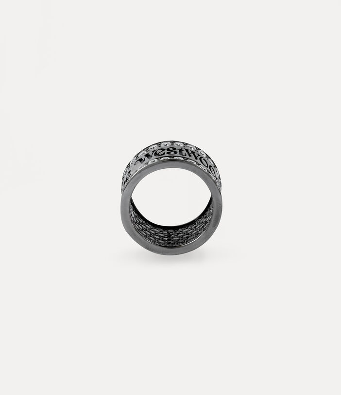 Fosco Ring Gunmetal-Tone 3