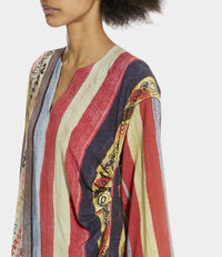 Mini Kaftan Dress Multi