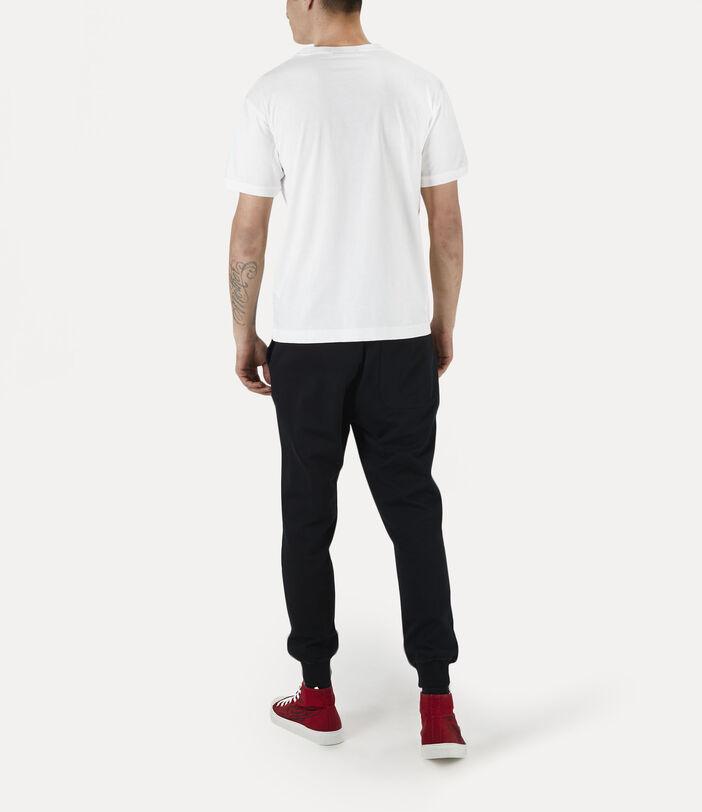 Man Crash T-Shirt White 3