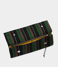 Robin Stripes Greek Eyes Clutch