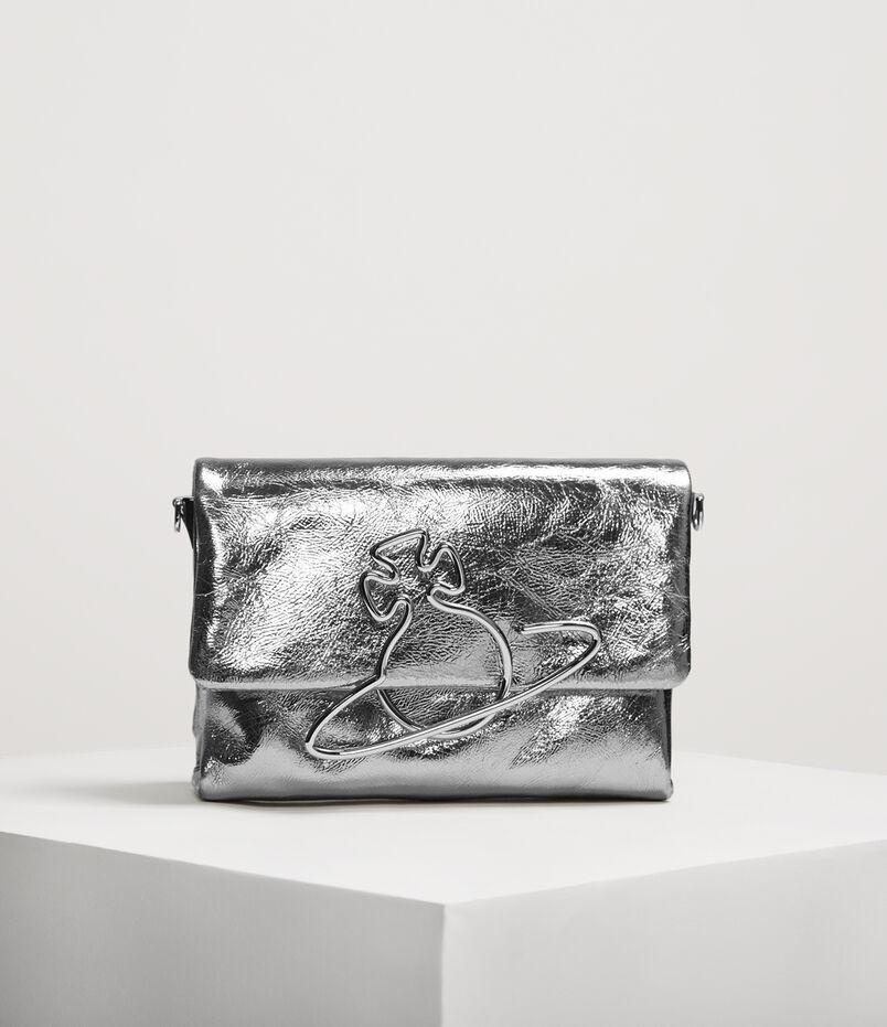332ffb1538dd Oxford Crossbody Bag Silver