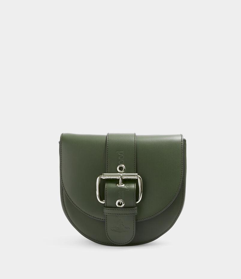 Alex Saddle Bag Green