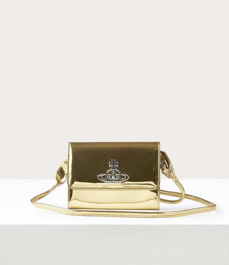 Johanna Crossbody Wallet Gold