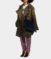 Carla Shopper Blue Velvet