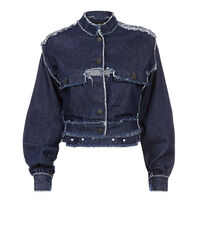 Grand Hotel Jacket Blue Denim