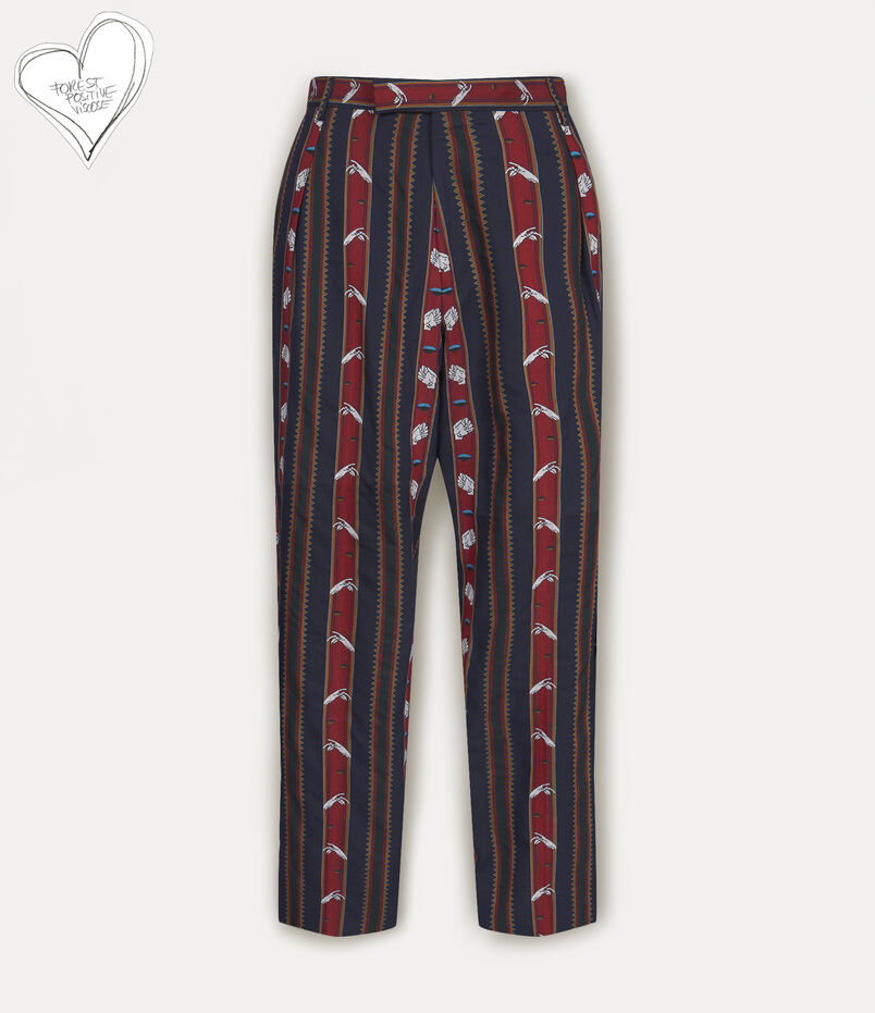 Chaplin Trousers Chrissie Stripes