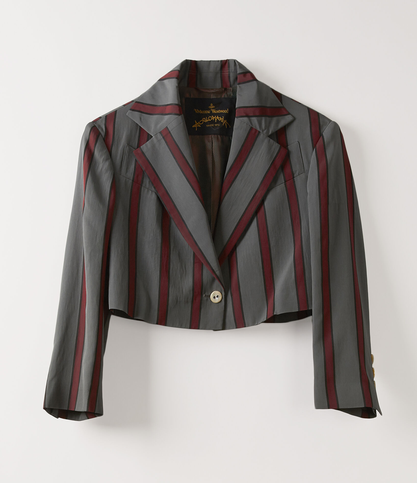 Cropped Jacket in Grey from Vivienne Westwood