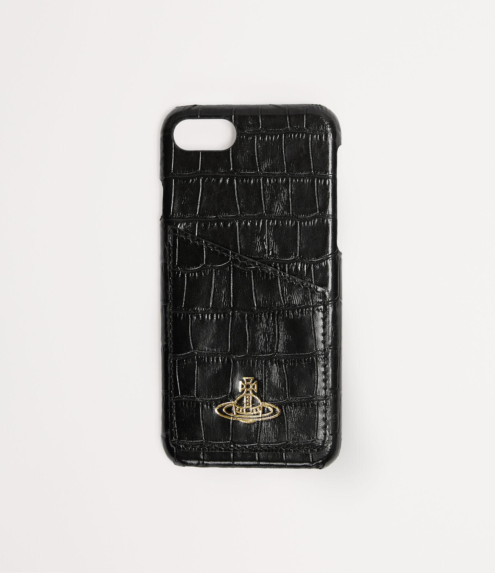 best website ce182 6a227 Vivienne Westwood Women's Designer Tech Accessories | Vivienne Westwood -  Iphone 7/8 Case With Card Black