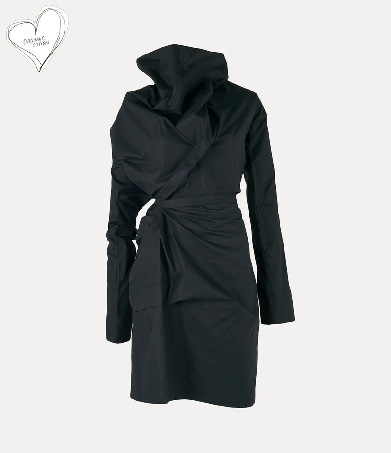 Long-Sleeve Cliff Dress