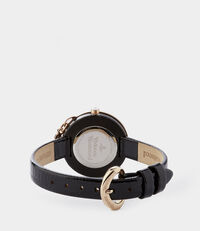 Bow Watch Rose/Black