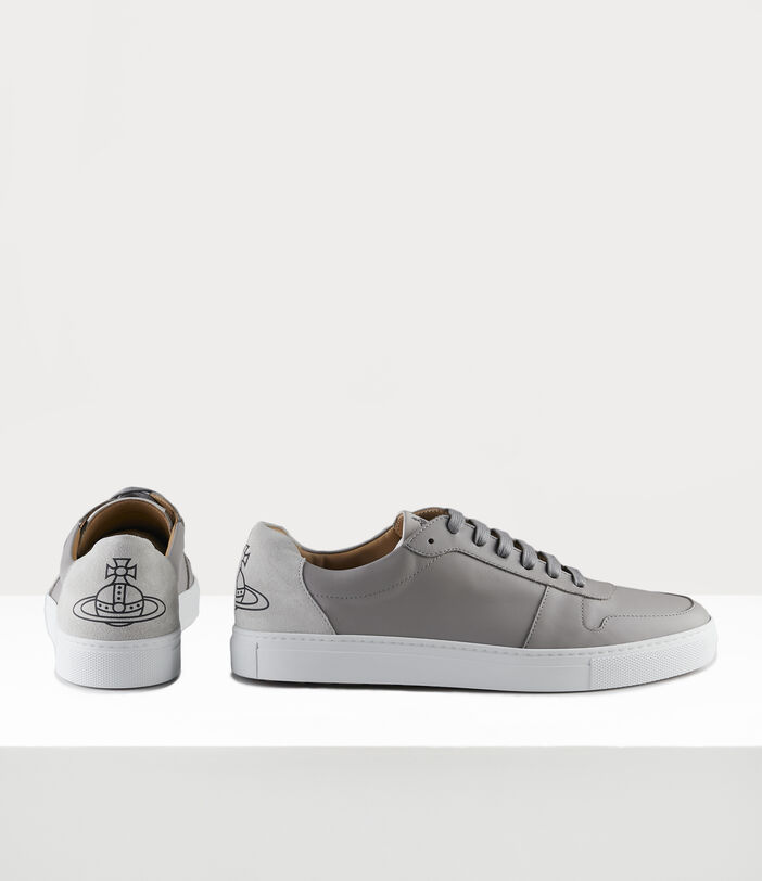 Men'S Low Top Apollo Trainers Grey 3