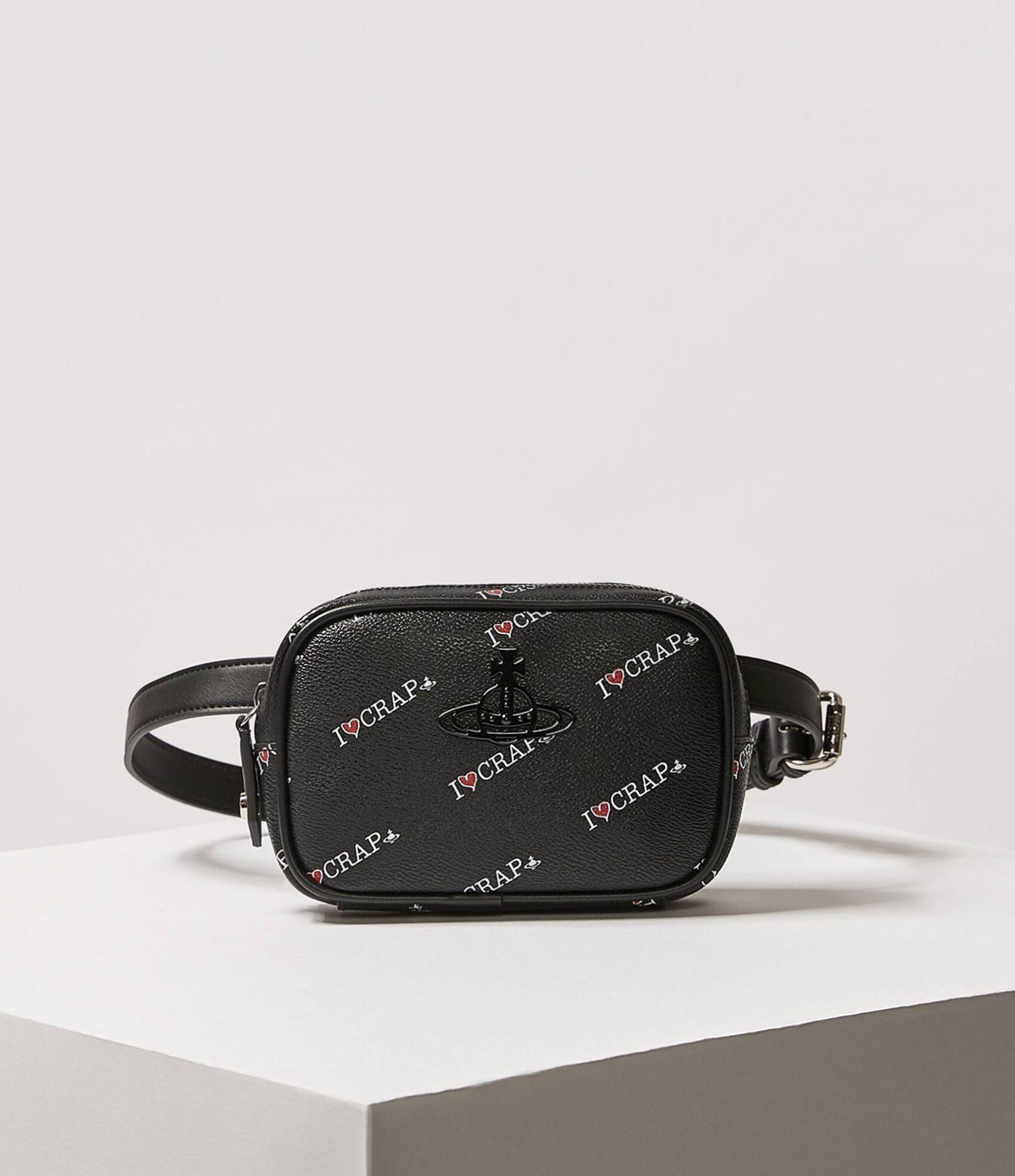 0a3ae71598d Vivienne Westwood Women's Designer Crossbody Bags | Women's CrossBody Bags  | Vivienne Westwood - Annie Belt Bag Black