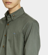 Two Button Krall Shirt Green