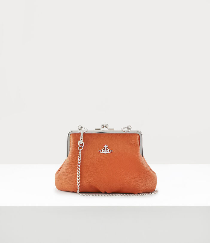Johanna Frame Purse Orange 1
