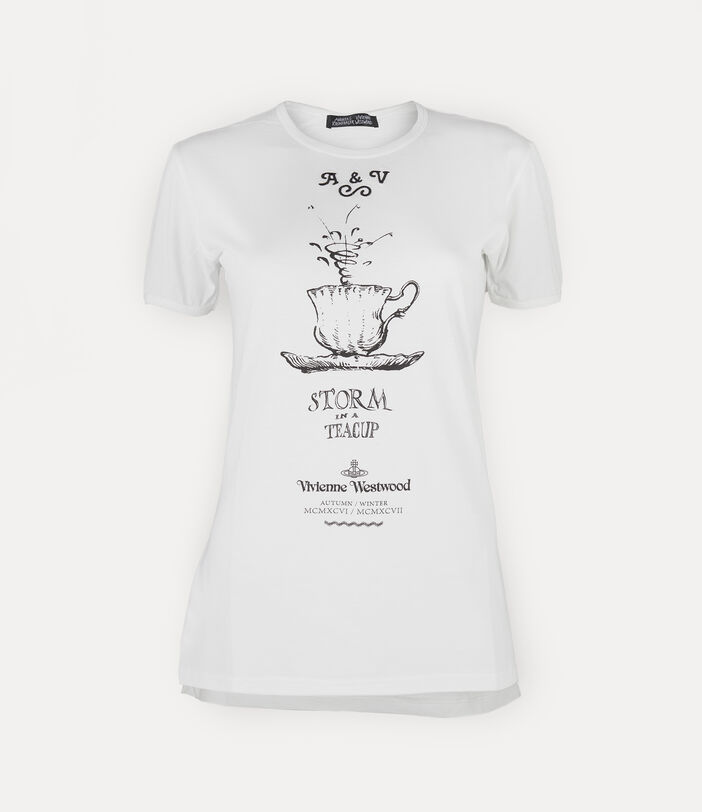 Storm T-Shirt White 1