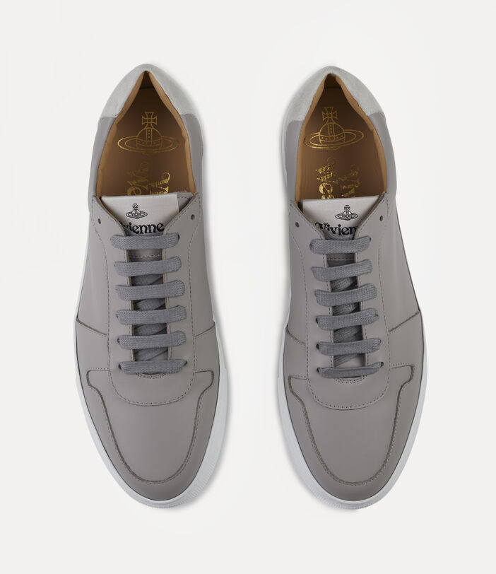 Men'S Low Top Apollo Trainers Grey 6