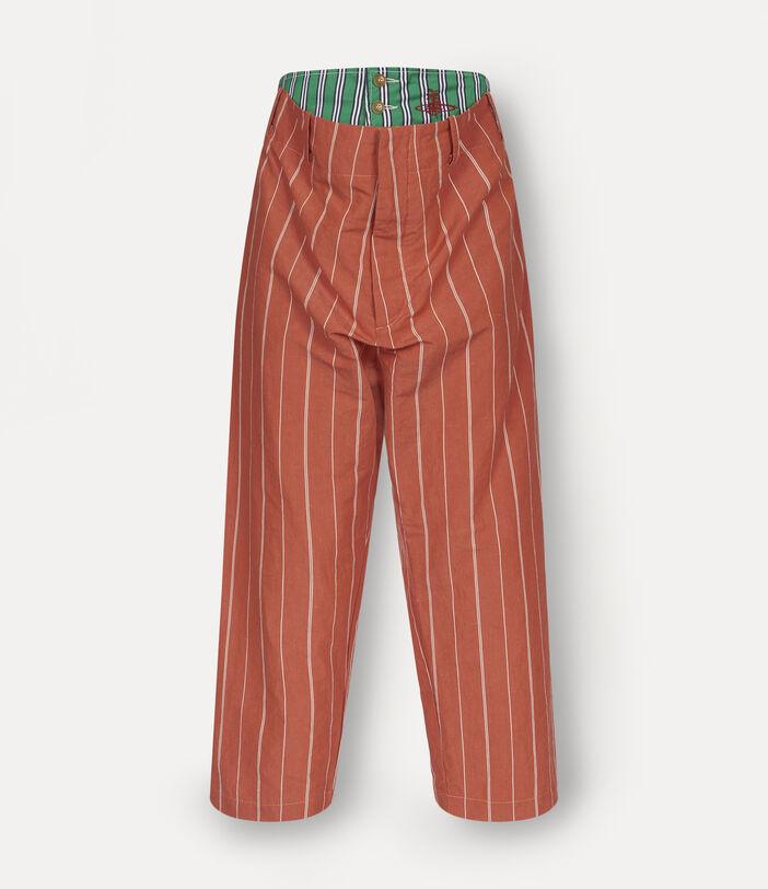 Alien Trousers Terracotta 1