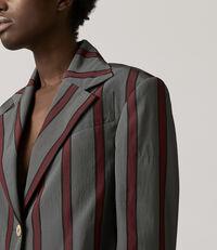 Cropped Jacket Grey