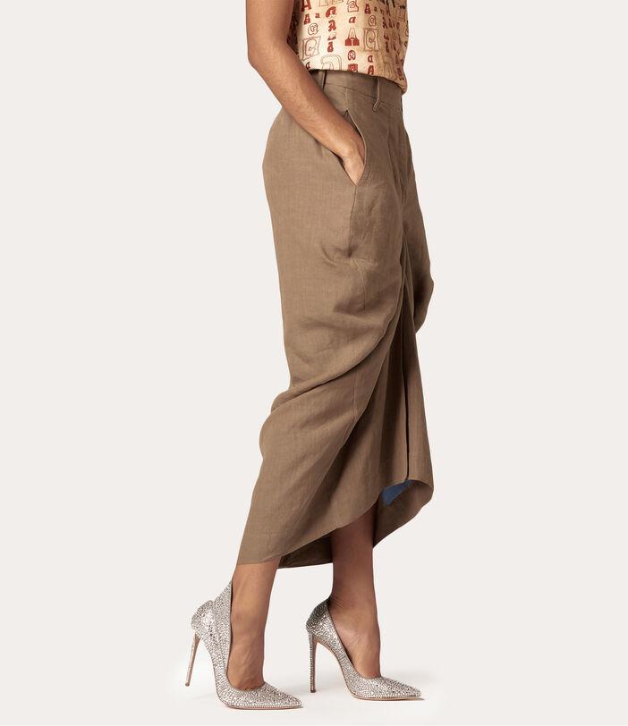 Spontanea Skirt Brown 3