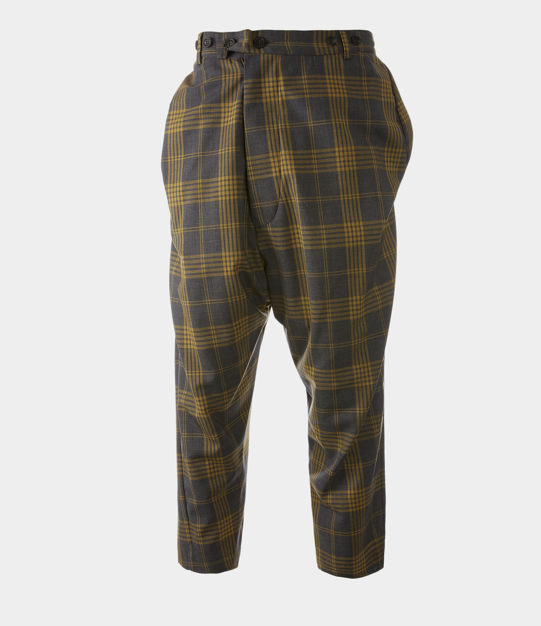 VIVIENNE WESTWOOD Warped Trousers Amber on Grey