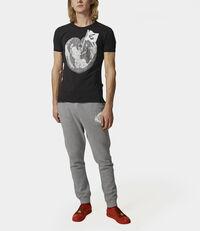Classic T-Shirt Heart World T-Shirt Black