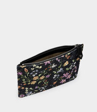 Coventry Quilted Pouch Flower