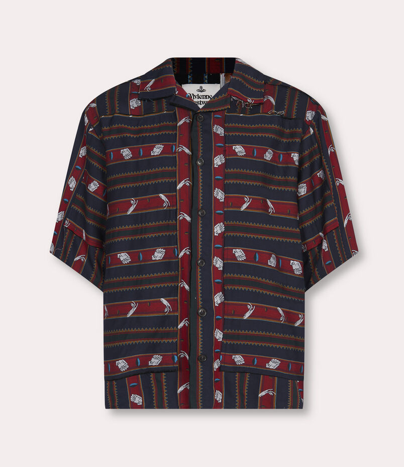 Vivienne Westwood Aloha Shirt Chrissie Stripes