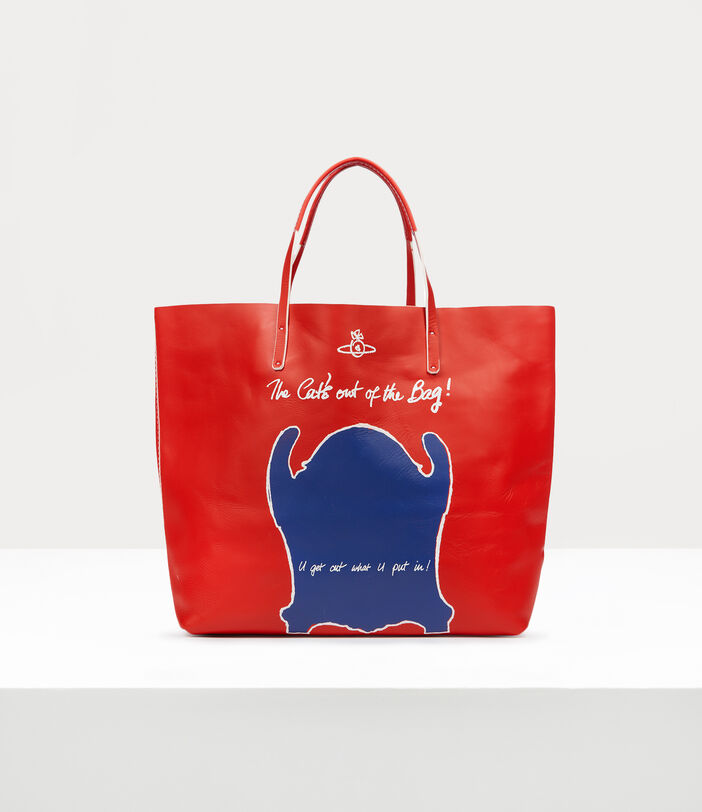 U Get Out What U Put In!  Shopper Red 1