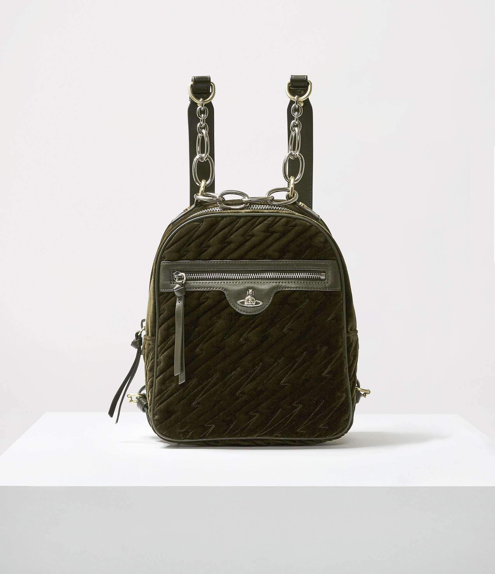 Coventry Backpack Green  by Vivienne Westwood