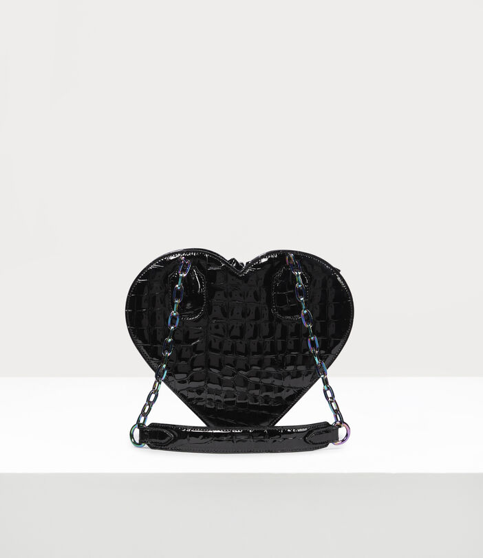 Archive Orb Heart Handbag Black/Iridescent 2