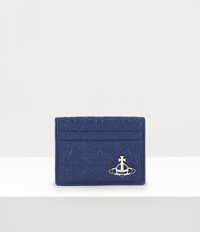 George Man Card Holder Blue 1