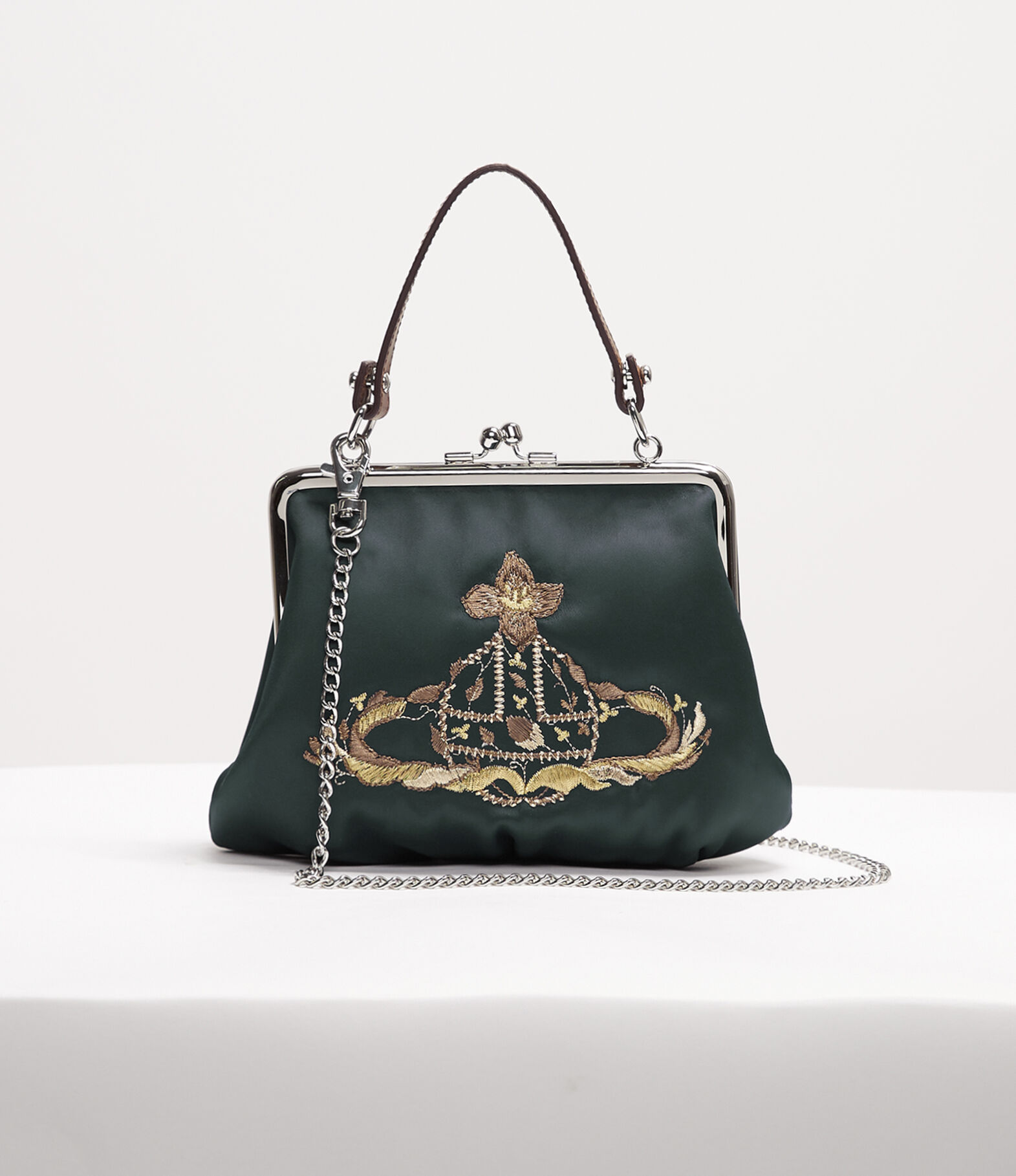 Beautiful Unique Frame Opening Purse