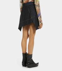 Infinity Skirt Blue Denim