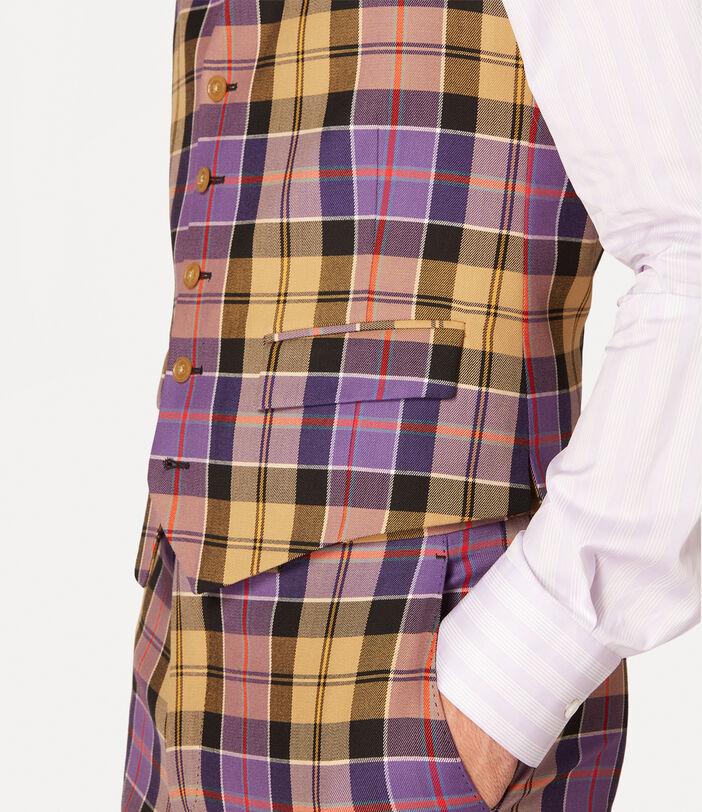 New Classic Waistcoat Tartan 5