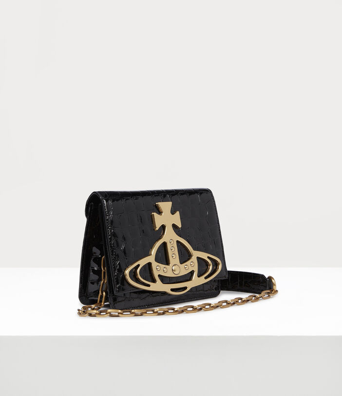 Archive Orb Crossbody Bag Black/Brass 2