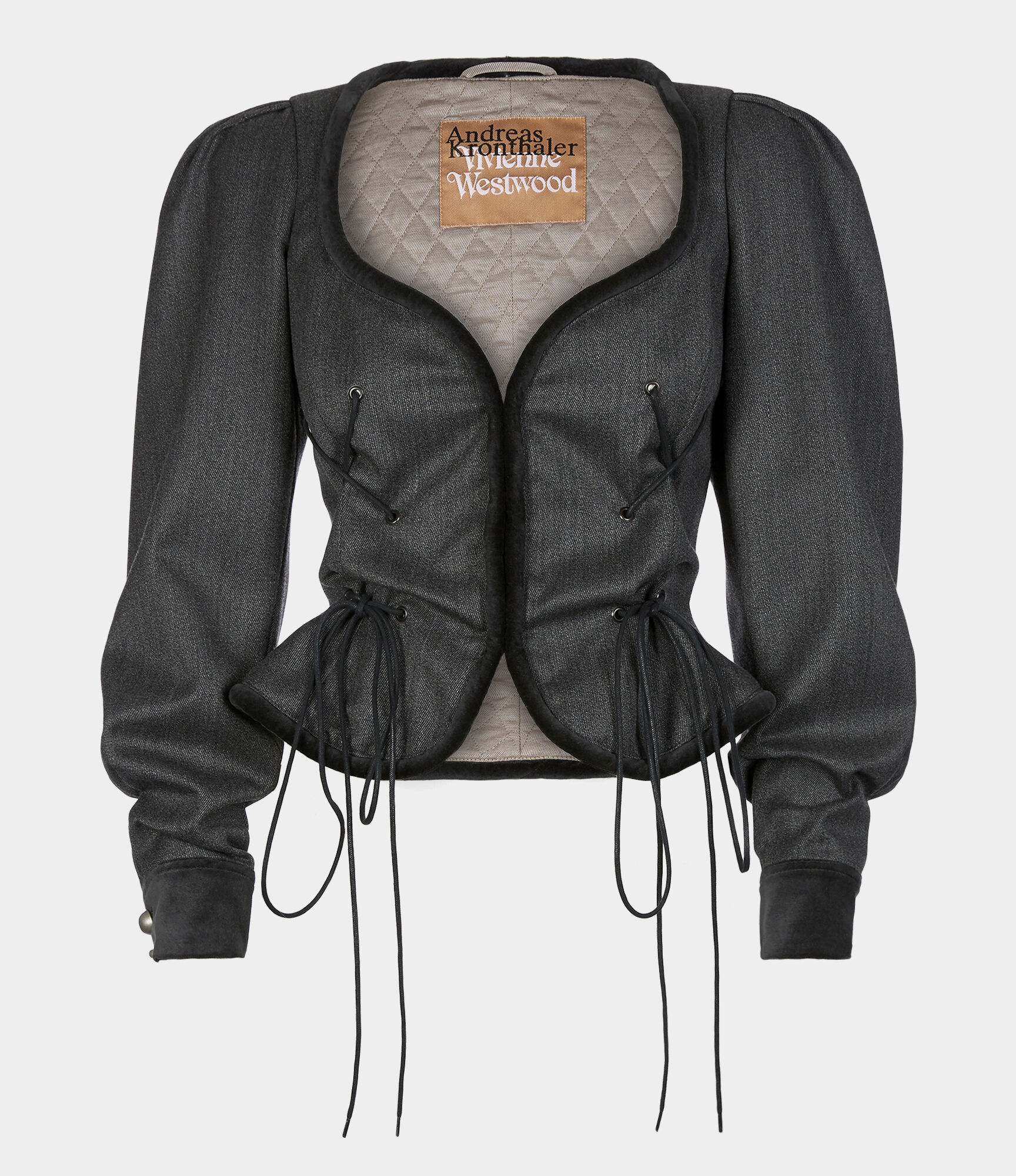 Gexi Spencer Jacket Charcoal from Vivienne Westwood