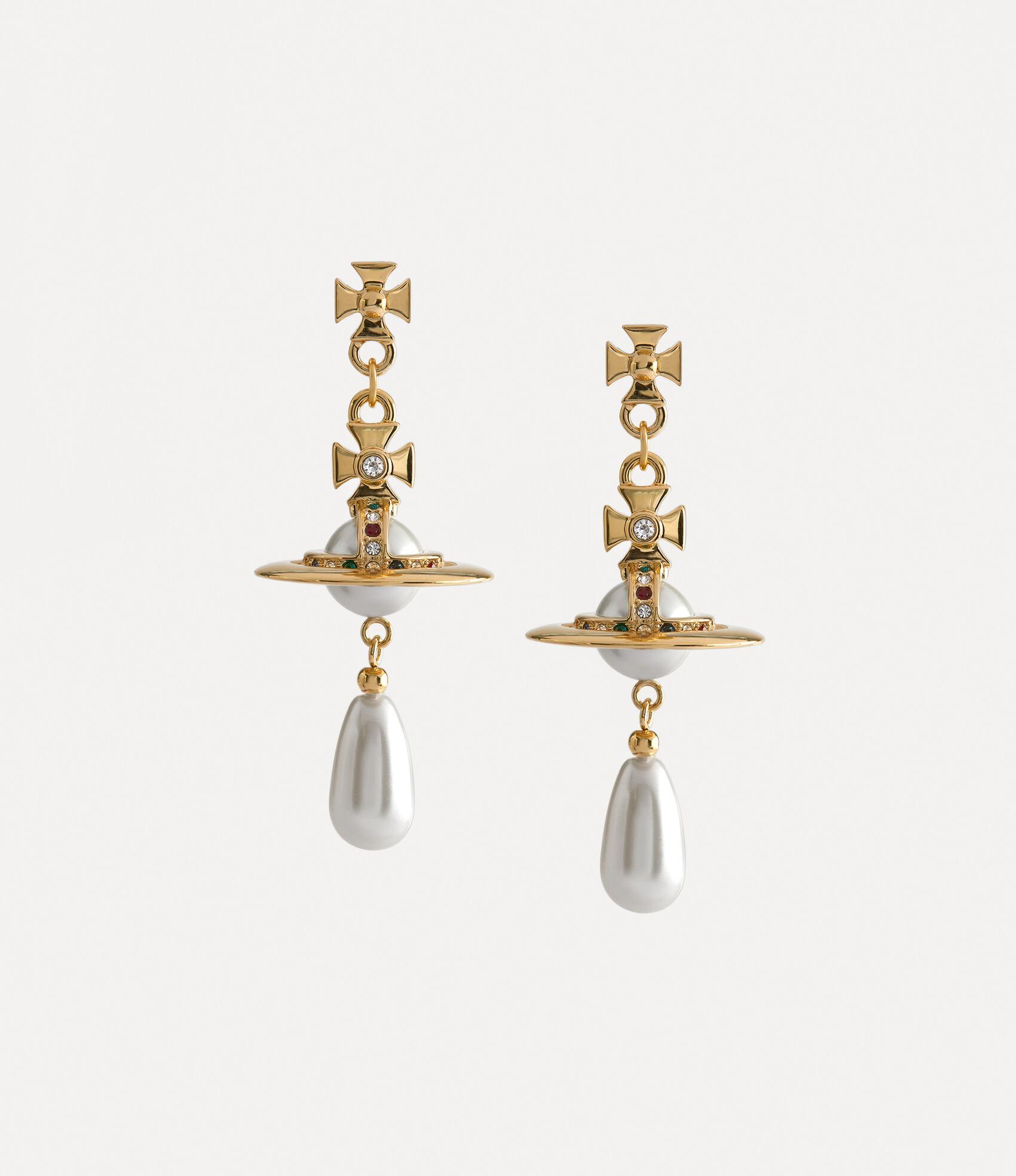 Vivienne Westwood Earrings Women S Jewellery Pearl Drop