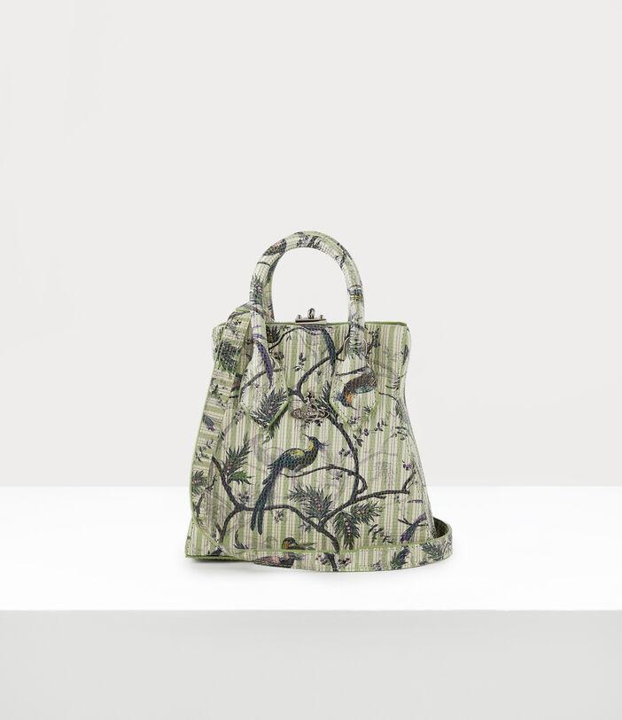 Kelly Small Handbag Bird Of Paradise Print 4