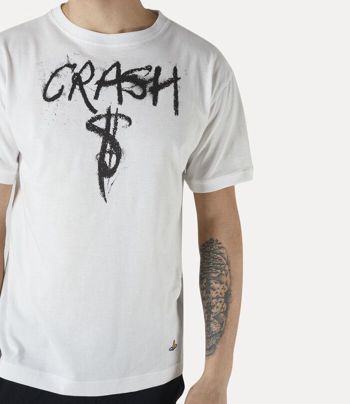 Man Crash T-Shirt White 4